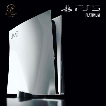 9 067 euros, c'est le modèle le plus cher actuellement connu pour cette playstation 5 de platine